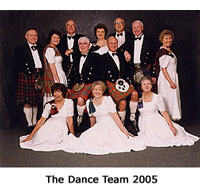 The Bournemouth Caledonian Dance Team 2005