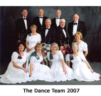 The Bournemouth Caledonian Dance Team 2007