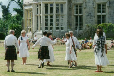 Dancing at Highcliffe Castle