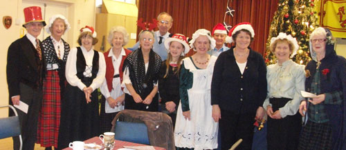 The Choir singing at Christmas 2013