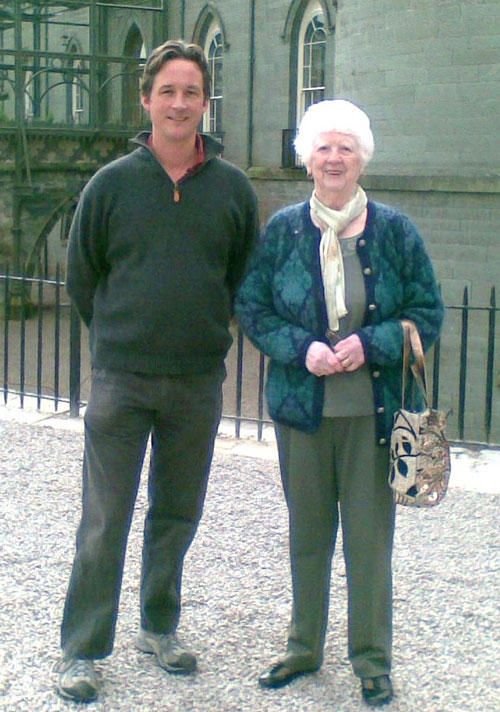 Our Honorary President the Duke of Argyll with Life Vice President Jan Campbell 2010