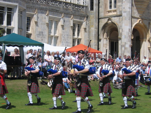 Hampshire Caledonian Pipe Band