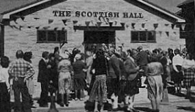 The opening of The Scottish Hall